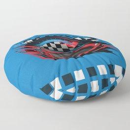 Race Car Floor Pillow