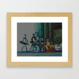 At the Ballet Framed Art Print