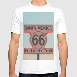 Route 66  End of the Trail T-shirt