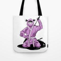 Lady Ninja Tote Bag