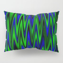 WAVY #1 (Blues & Greens) Pillow Sham