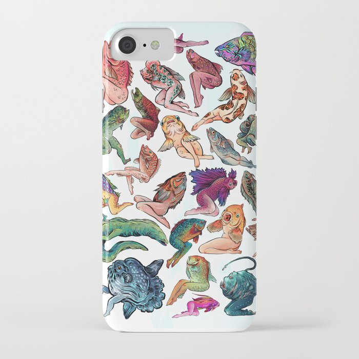 reverse mermaids iphone case