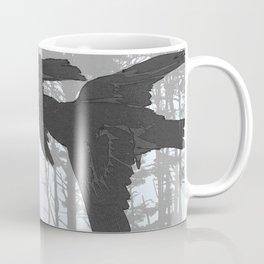 Crow Goes Hunting Coffee Mug