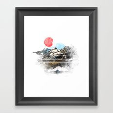 Japan, Tokyo - Imperial Palace Framed Art Print