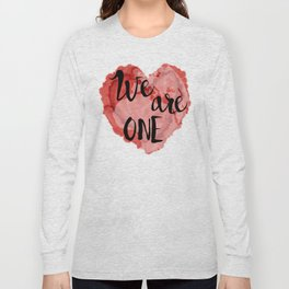 We Are One -Global Community Long Sleeve T-shirt