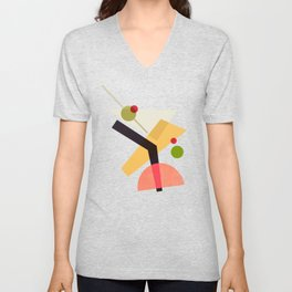 Cocktail IV Martini Unisex V-Neck