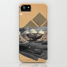 The future a time to reminisce. (mixed media) Slim Case iPhone (5, 5s)