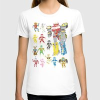 power rangers T-shirts featuring Mighty Melty Power Rangers by Josh Ln
