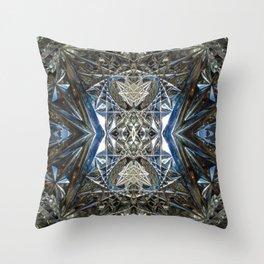 Crystal Sun Throw Pillow