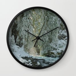 Wanderlust Wonder  - Nature Photography Wall Clock