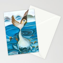 Whale | Transformation Stationery Cards