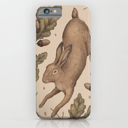 The Hare and Oak iPhone Case