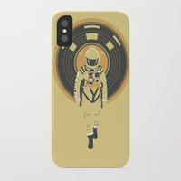dj iPhone & iPod Cases featuring DJ HAL 9000 by Robert Farkas