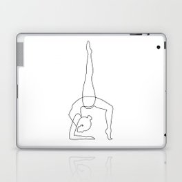 Inhale - Exhale Laptop & iPad Skin