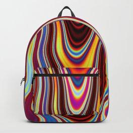 Marbled Lava 57 magic fluid digital Hi Res Backpack