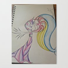 An Odd Love Canvas Print