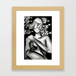Thought Process Framed Art Print