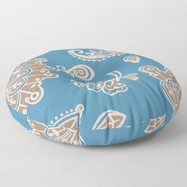 Moroccan Rug - Digital Art  Floor Pillow