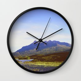 The Cuillin Hills Wall Clock