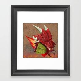 Hot Head Framed Art Print
