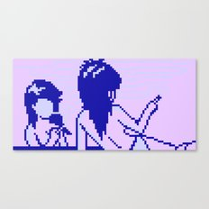Cold Spectral Babes Canvas Print