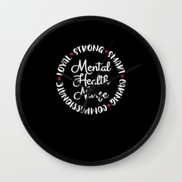 Mental Health Nurse Gifts Nurses Graduation Love Wall Clock