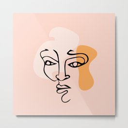 Wireface Metal Print