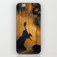 theatre iPhone & iPod Skins featuring Shadow theatre by Alfani Photography