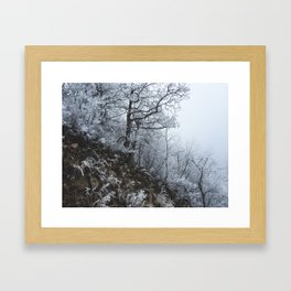 Blizzard // #TravelSeries Framed Art Print