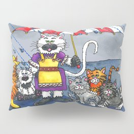 Cats on a Rainy Day Pillow Sham