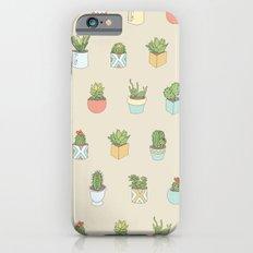 Cute Succulents iPhone 6s Slim Case