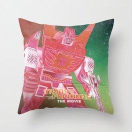 The Transformers Movie / Rodimus Prime Throw Pillow