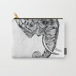Elephant art Carry-All Pouch