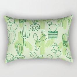 cactus lovely wallart Rectangular Pillow