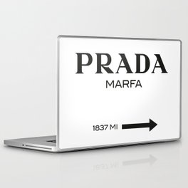 PradaMarfa sign Laptop & iPad Skin