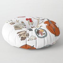 Hannibal Floor Pillow