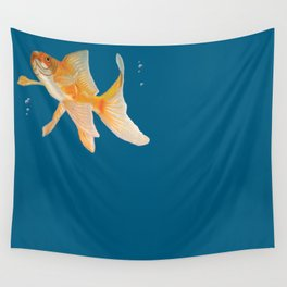 Fish & Bubbles Wall Tapestry