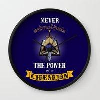 warhammer Wall Clocks featuring Librarian, Warhammer 40K by ZsaMo Design