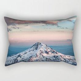 Mountain Sunset - Nature Photography Rectangular Pillow