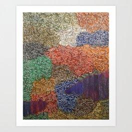 10,000 Leaves Art Print