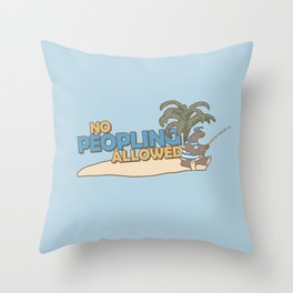 Naboombu Throw Pillow