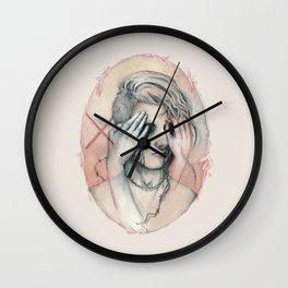 14/02 : Love is a blind Wall Clock