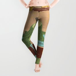 TRAVELING STUMP Leggings