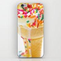 sprinkles iPhone & iPod Skins featuring Sprinkles by PixelFarmer