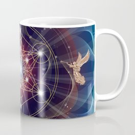Metatron's Cube - Merkabah - Peace and Balance Coffee Mug