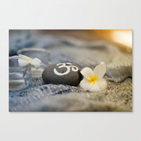om Canvas Prints featuring om by tjasa