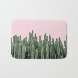 Pink Sky Cactus Bath Mat