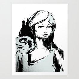 Portrait 101 Art Print