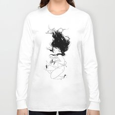 Plunge Long Sleeve T-shirt