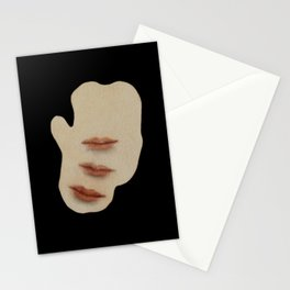 Sometimes my thoughts are betrayed by the movements of my body Stationery Cards